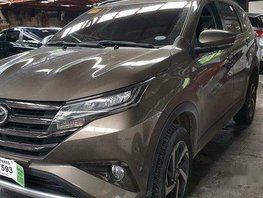 Brown Toyota Rush 2019 for sale in Quezon City