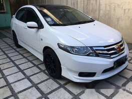 Selling White Honda City 2012 Automatic Gasoline