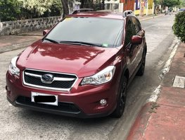 Red Subaru Xv 2015 at 27000 km for sale in Marikina