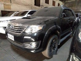 Selling Black Toyota Fortuner 2015 Automatic Diesel