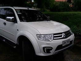 White Mitsubishi Montero Sport 2015 for sale in Muntinlupa