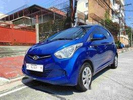 Blue Hyundai Eon 2018 for sale in Quezon City
