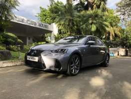 Sell Grey 2018 Lexus Is 350 at 6000 km in Manila