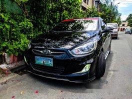 Black Hyundai Accent 2013 Automatic Gasoline for sale