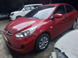 Sell Red 2018 Hyundai Accent in Makati