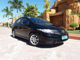 Black Honda City 2013 Manual Gasoline for sale