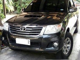 Black Toyota Hilux 2014 Manual for sale
