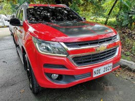 Red Chevrolet Trailblazer 2017 Automatic Diesel for sale