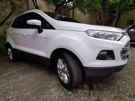 White Ford Ecosport 2015 Manual Gasoline for sale