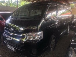 Sell Black 2018 Toyota Hiace at Manual Diesel at 6000 km