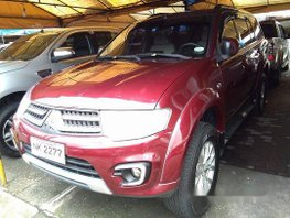 Sell Red 2015 Mitsubishi Montero Sport at 26979 km