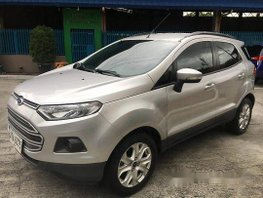 Selling Silver Ford Ecosport 2015 at 37000 km