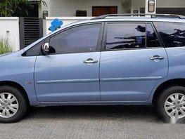 Blue Toyota Innova 2012 at 110000 km for sale