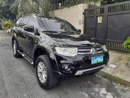 Black Mitsubishi Montero Sport 2014 for sale in Parañaque