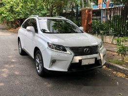 White Lexus Rx 350 2014 for sale in Makati