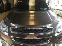 Selling Brown Chevrolet Trailblazer 2016 Automatic Diesel at 21000 km