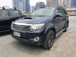 Selling Black Toyota Fortuner 2015 in Pasig