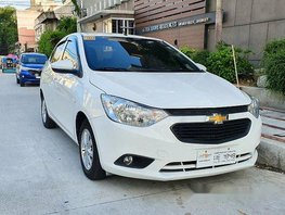 Sell White 2018 Chevrolet Sail in Caloocan