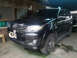 Sell Black 2015 Toyota Fortuner at 79000 km