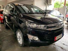 Black Toyota Innova 2018 Manual Diesel for sale