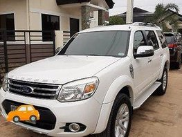 Sell White 2013 Ford Everest Automatic Diesel at 87000 km