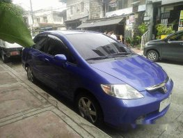 Selling Blue Honda City 2005 Automatic Gasoline at 150000 km