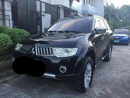 Selling Black Mitsubishi Montero Sport 2010 Automatic Diesel at 65000 km