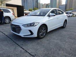 White Hyundai Elantra 2016 Automatic Gasoline for sale