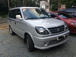 Silver Mitsubishi Adventure 2015 Manual Diesel for sale