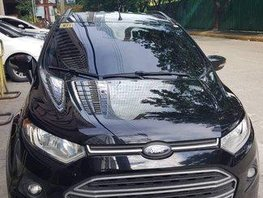 Black Ford Ecosport 2014 at 20000 km for sale
