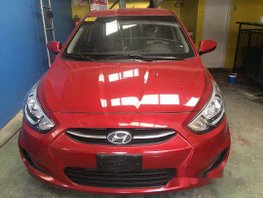 Sell Red 2018 Hyundai Accent in Quezon City