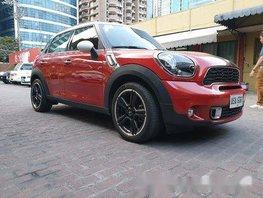 Red Mini Cooper 2015 Automatic Gasoline for sale