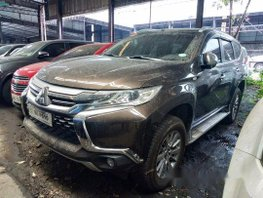 Brown Mitsubishi Montero Sport 2017 Manual Diesel for sale