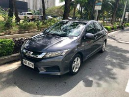 Sell Grey 2016 Honda City Automatic Gasoline at 33000 km