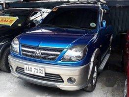 Sell Blue 2014 Mitsubishi Adventure in Antipolo
