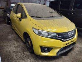 Sell Yellow 2017 Honda Jazz at 12000 km