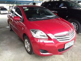 Sell Red 2010 Toyota Vios Automatic Gasoline at 53142 km