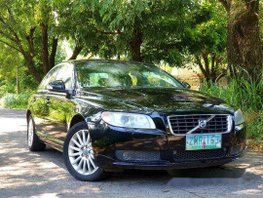 Selling Black Volvo S80 2008 Automatic Gasoline at 116000 km