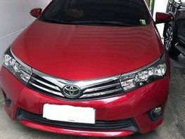 Selling Red Toyota Corolla Altis 2014 Automatic Gasoline