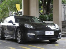 Black Porsche Panamera 2010 for sale in Quezon City