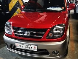 Selling Red Mitsubishi Adventure 2017 in Manila