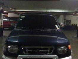 Selling Blue Mitsubishi Adventure 2000 Manual Gasoline
