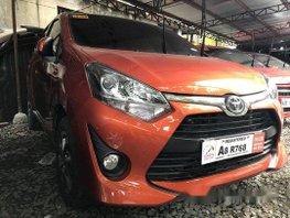 Selling Orange Toyota Wigo 2019 Manual Gasoline