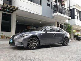 Grey Lexus Is 350 2014 at 17000 km for sale