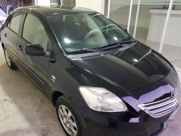 Black Toyota Vios 2012 Manual Gasoline for sale