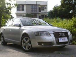 Sell Silver 2006 Audi A6 in Quezon City