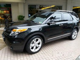 Sell Black 2014 Ford Explorer Automatic Gasoline at 55000 km
