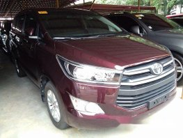 Sell Red 2018 Toyota Innova in Pasig