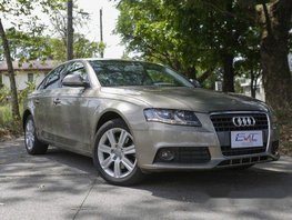 Beige Audi A4 2009 for sale in Quezon City