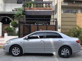 Silver Toyota Corolla Altis 2010 Manual Gasoline for sale